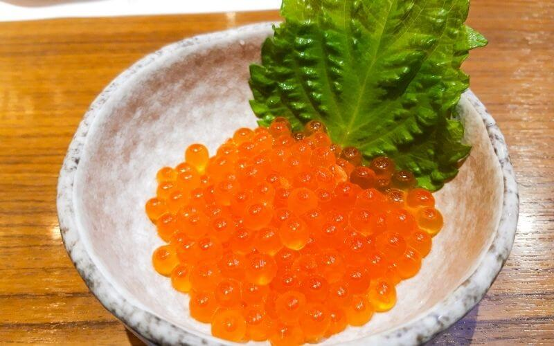 fish caviar red