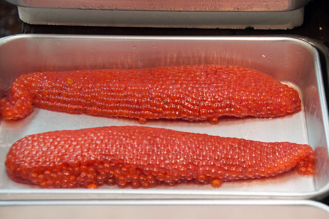 what is salmon roe
