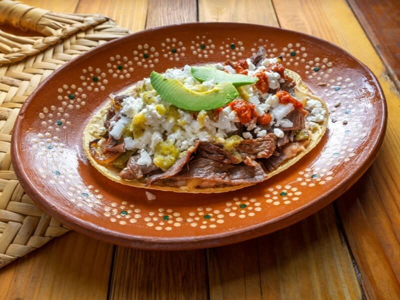 mexican-huaraches-food