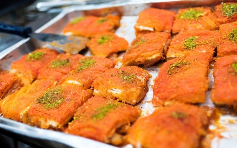 lebanese kanafeh recipe