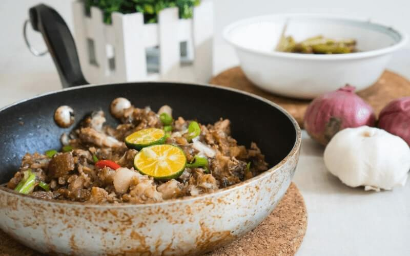 sisig recipe without liver