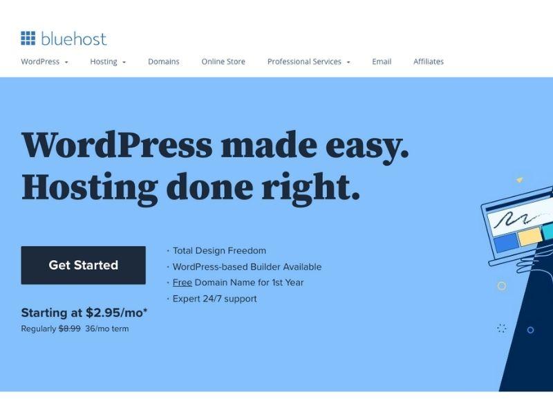 bluehost-wordpress-integration